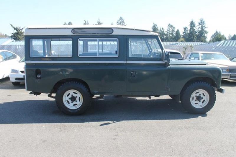 1968 Land Rover Range Rover  - Edmonds WA