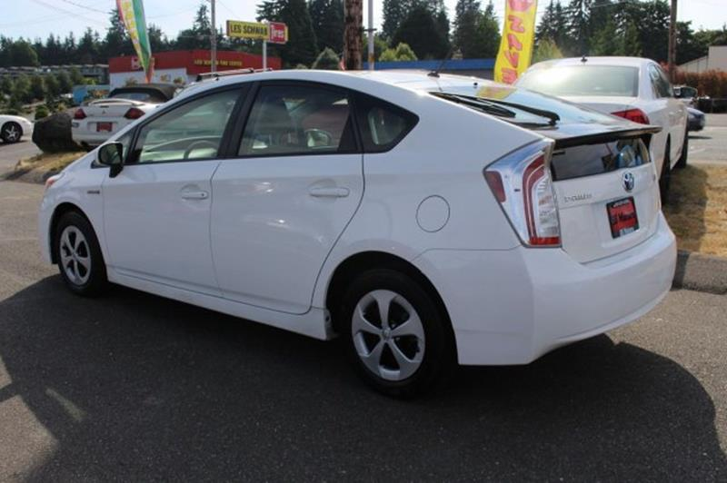2012 Toyota Prius Four 4dr Hatchback - Edmonds WA