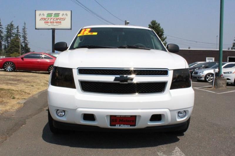 2012 Chevrolet Tahoe 4x4 Special Service 4dr SUV - Edmonds WA