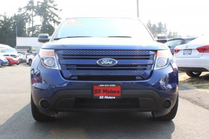 2014 Ford Explorer AWD Police Interceptor 4dr SUV - Edmonds WA