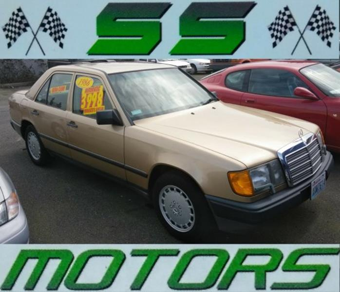 1986 mercedes benz 300 class 300 e 4dr sedan in edmonds wa for Mercedes benz 1986 e300