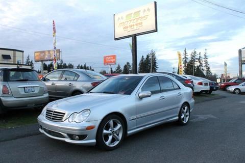 2006 Mercedes-Benz C-Class for sale at SS MOTORS LLC in Edmonds WA
