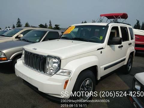 2008 Jeep Liberty for sale in Edmonds, WA
