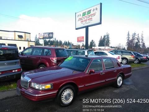 Lincoln Town Car For Sale In Washington Carsforsale Com