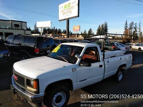 1995 GMC Sierra 2500 for sale in Edmonds, WA