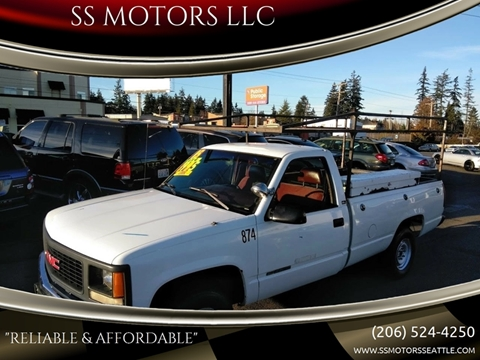 1995 GMC Sierra 2500 for sale in Edmonds, WA