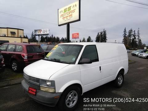 c344ad1f11 2004 Chevrolet Astro Cargo for sale in Edmonds