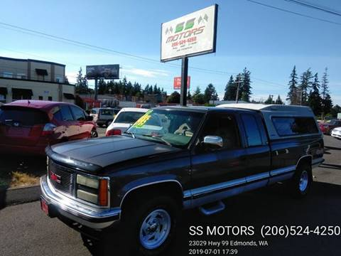 1992 GMC Sierra 2500 for sale in Edmonds, WA