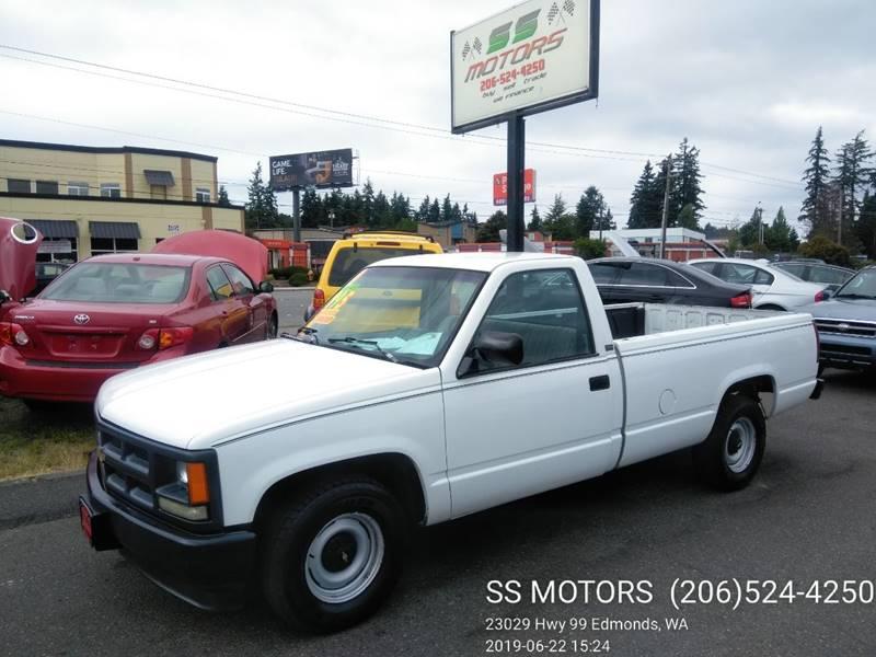 1991 Chevrolet C/K 1500 Series 2dr C1500 Standard Cab LB In