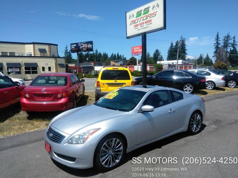 2008 Infiniti G37 Journey 2dr Coupe In Edmonds WA - SS