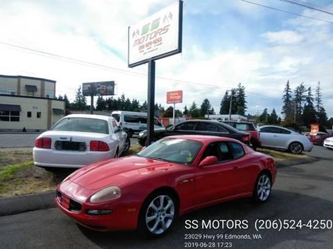 2003 Maserati Coupe for sale in Edmonds, WA