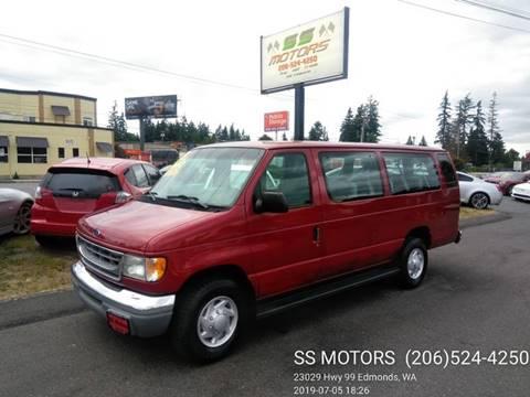 1998 Ford E-350 for sale in Edmonds, WA