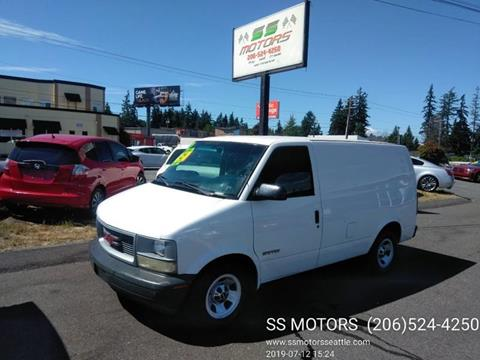 2002 GMC Safari Cargo for sale in Edmonds, WA