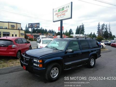 2000 Chevrolet Tahoe Limited/Z71 for sale in Edmonds, WA