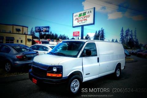 2004 Chevrolet Express Cargo for sale in Edmonds, WA