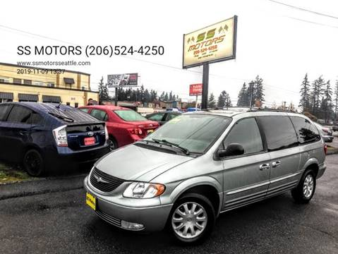 2003 Chrysler Town and Country for sale in Edmonds, WA
