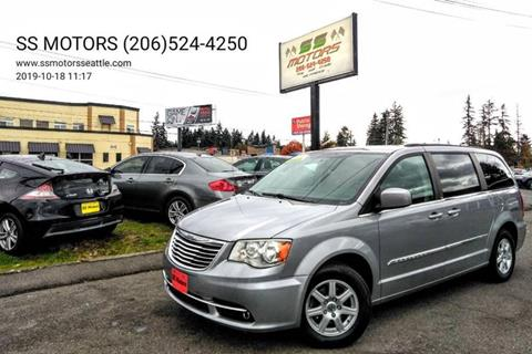 2013 Chrysler Town and Country for sale at SS MOTORS LLC in Edmonds WA