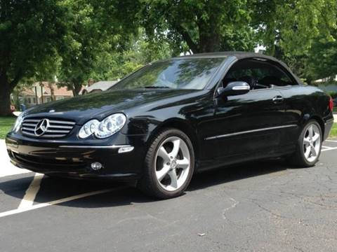 Mercedes Benz Indianapolis >> 2005 Mercedes Benz Clk For Sale In Indianapolis In