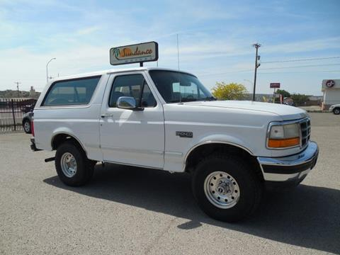 1996 Ford Bronco for sale in Gallup, NM