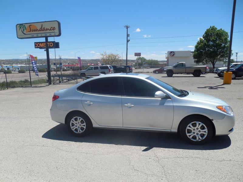 2010 Hyundai Elantra Blue 4dr Sedan In Gallup NM ...