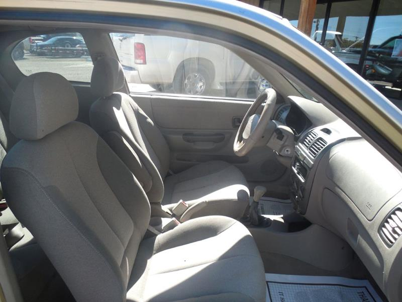 2001 Hyundai Accent GS 2dr Hatchback In Gallup NM ...