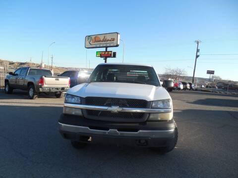 2004 Chevrolet Silverado 1500 for sale at Sundance Motors in Gallup NM