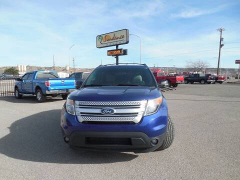 2013 Ford Explorer XLT for sale at Sundance Motors in Gallup NM