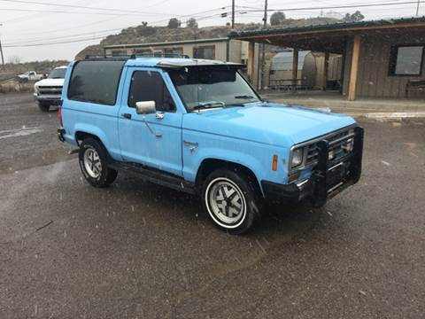 1988 Ford Bronco II for sale at Sundance Motors in Gallup NM
