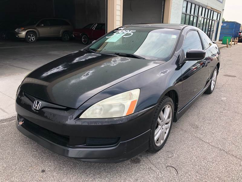 2004 Honda Accord EX V 6 2dr Coupe   Indianapolis IN