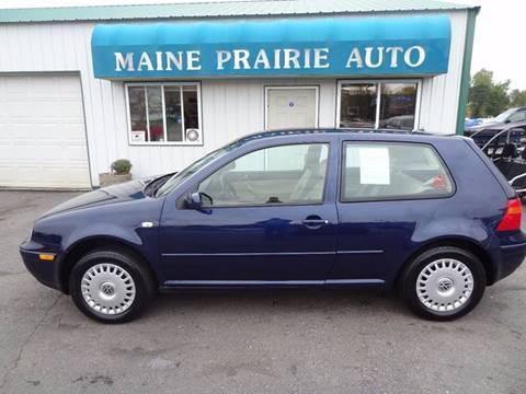 2002 Volkswagen Golf for sale in Saint Cloud, MN