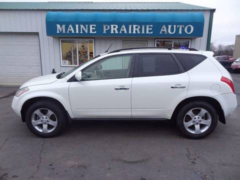 2003 Nissan Murano for sale in Saint Cloud, MN