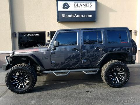 2017 Jeep Wrangler Unlimited for sale in Bloomington, IN