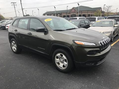 2014 Jeep Cherokee for sale in Warren, MI
