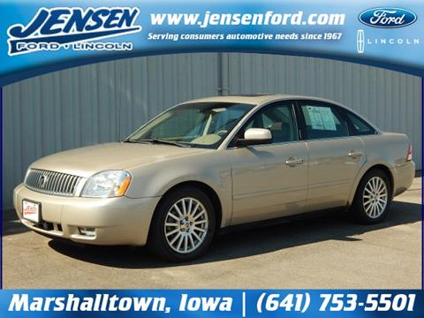 2006 Mercury Montego for sale in Marshalltown, IA
