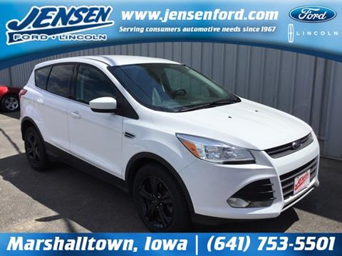 2014 Ford Escape for sale in Marshalltown, IA