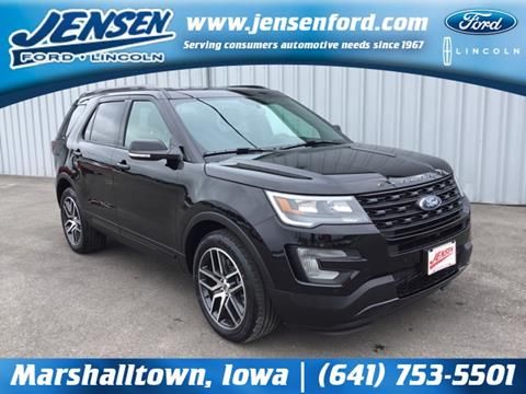 2017 Ford Explorer for sale in Marshalltown, IA