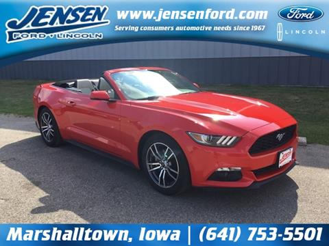 2017 Ford Mustang for sale in Marshalltown, IA