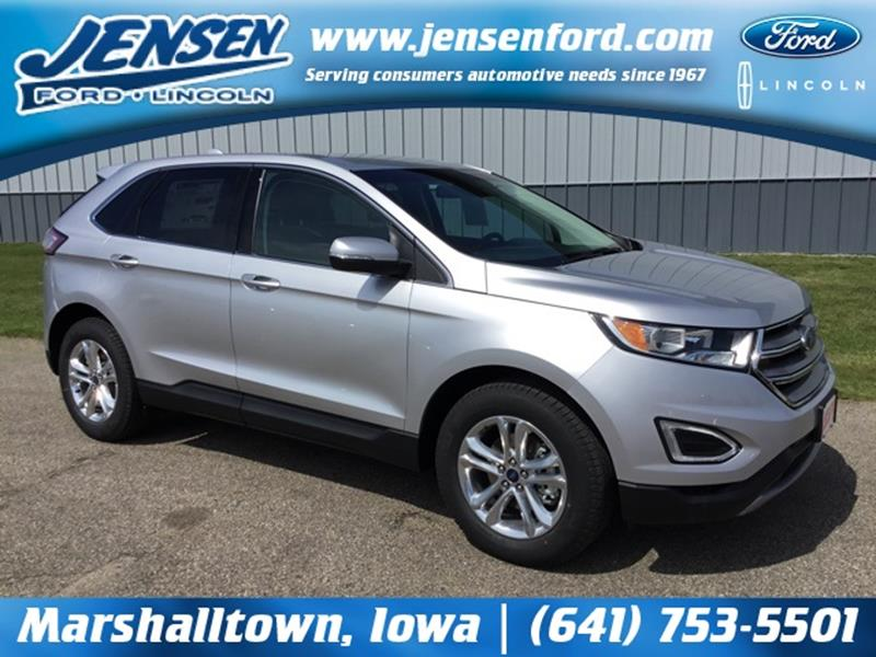 Ford Edge Sel Dr Crossover Marshalltown Ia