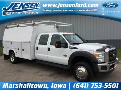 2014 Ford F-450 Super Duty for sale at JENSEN FORD LINCOLN MERCURY in Marshalltown IA