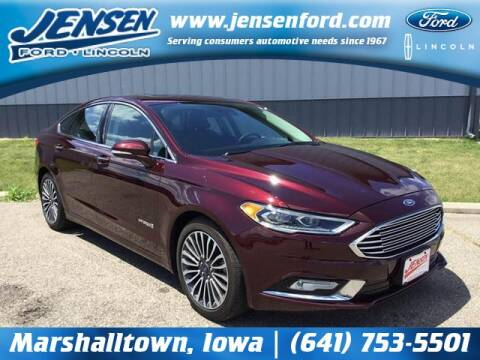 2017 Ford Fusion Hybrid for sale at JENSEN FORD LINCOLN MERCURY in Marshalltown IA