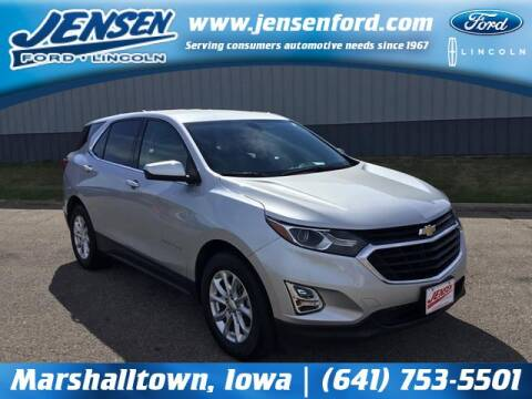 2018 Chevrolet Equinox for sale at JENSEN FORD LINCOLN MERCURY in Marshalltown IA