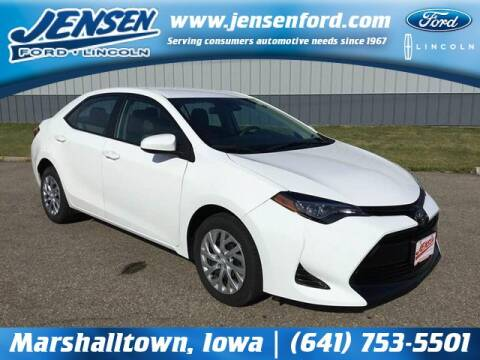 2019 Toyota Corolla for sale at JENSEN FORD LINCOLN MERCURY in Marshalltown IA