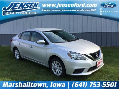 2019 Nissan Sentra for sale at JENSEN FORD LINCOLN MERCURY in Marshalltown IA