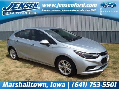 2017 Chevrolet Cruze for sale at JENSEN FORD LINCOLN MERCURY in Marshalltown IA