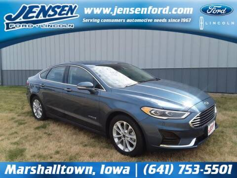 2019 Ford Fusion Hybrid for sale at JENSEN FORD LINCOLN MERCURY in Marshalltown IA