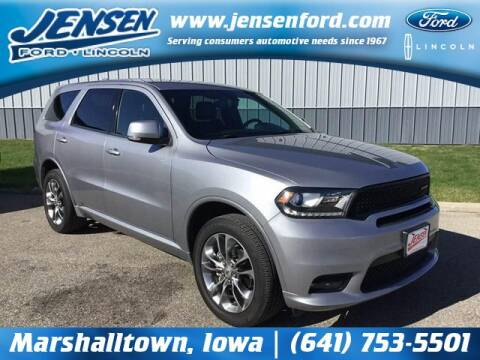 2019 Dodge Durango for sale at JENSEN FORD LINCOLN MERCURY in Marshalltown IA