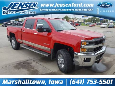2016 Chevrolet Silverado 2500HD for sale at JENSEN FORD LINCOLN MERCURY in Marshalltown IA