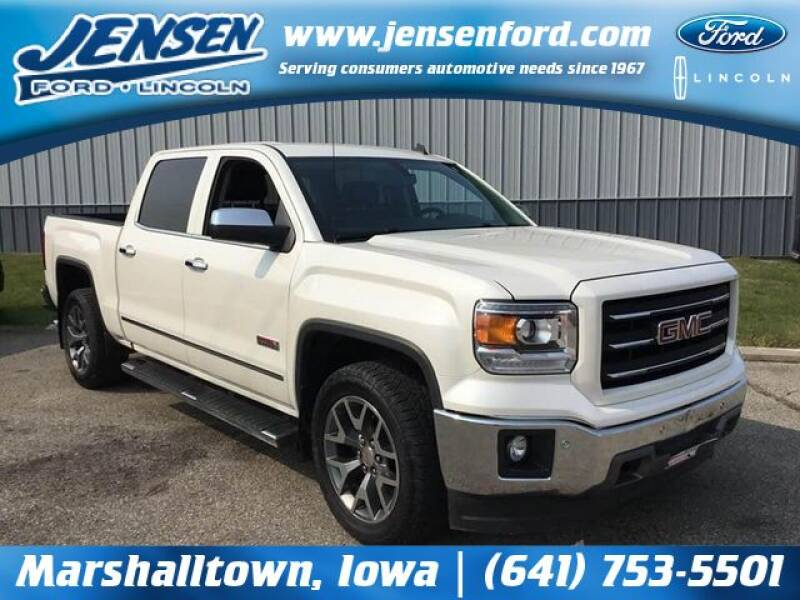 2014 GMC Sierra 1500 for sale at JENSEN FORD LINCOLN MERCURY in Marshalltown IA