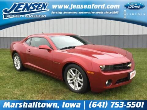 2013 Chevrolet Camaro for sale at JENSEN FORD LINCOLN MERCURY in Marshalltown IA