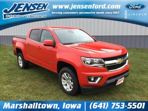 2019 Chevrolet Colorado for sale at JENSEN FORD LINCOLN MERCURY in Marshalltown IA